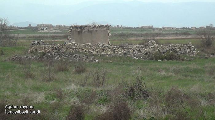 Imágenes del pueblo de Ismayilbeyli de la región de Aghdam