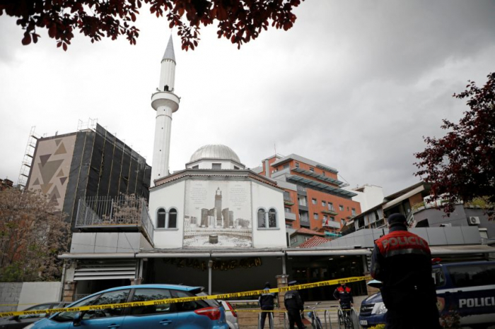 Five people stabbed in attack inside Albania mosque