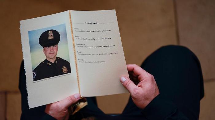 Kapitol-Polizist starb eines natürlichen Todes