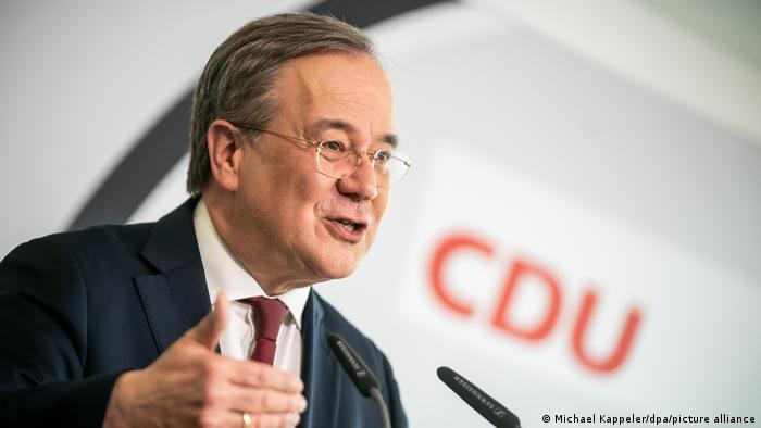 Germany's CDU backs Armin Laschet as Merkel