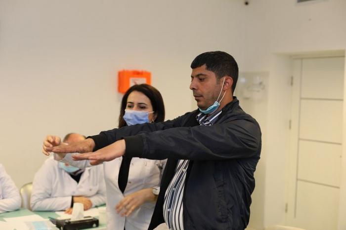Bir qrup şəxsin əlilliyi təkrar qiymətləndirilir -  FOTO