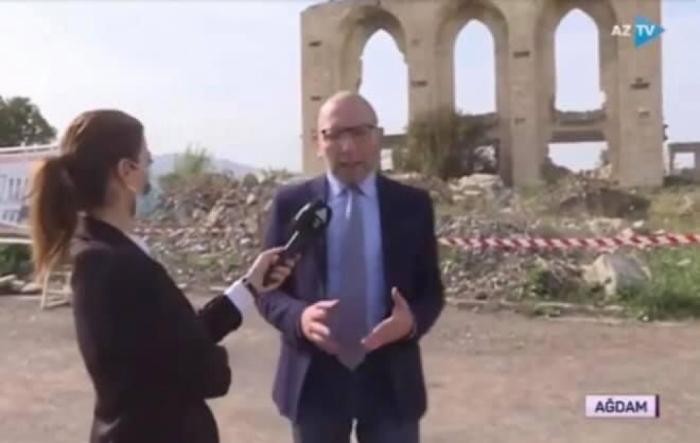Periodistas israelíes visitan los territorios liberados de la ocupación armenia