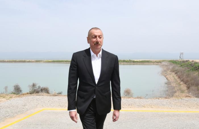 """Hacıqabulda """"Azərsun Şamaxı Aqropark""""ın açılışı olub -  FOTOLAR (YENİLƏNİB)"""