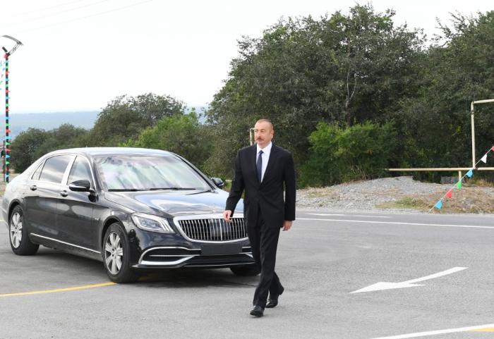Le président Ilham Aliyev effectue une visite àHadjygaboul - Mise à Jour