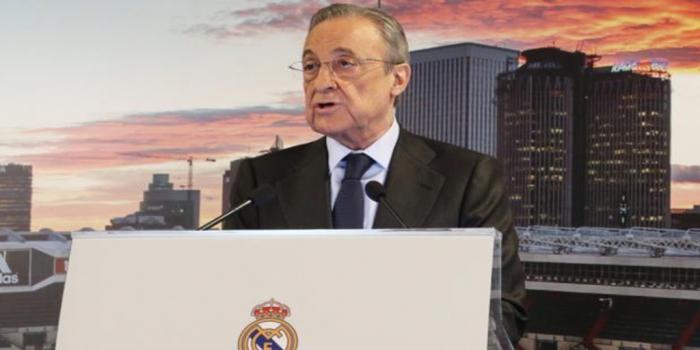Florentino Pérez:   «Me preocupa que nos quieran echar de la Champions, pero la ley nos protege»