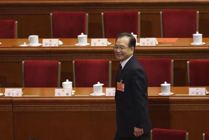 China sanctions ex-premier