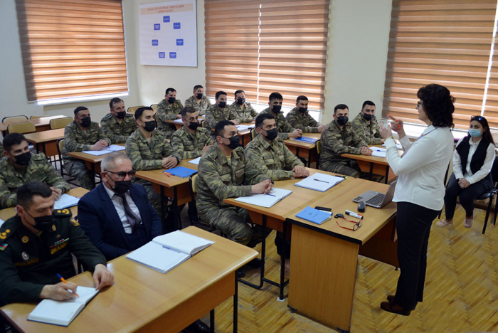 Azerbaijani Armed Forces' Training-Educational Center hosts scientific-practical seminar -   VIDEO