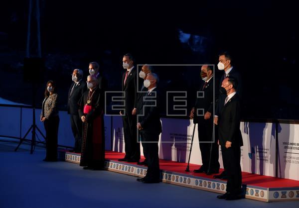 La Cumbre Iberoamericana alza el telón con la cena de los mandatarios