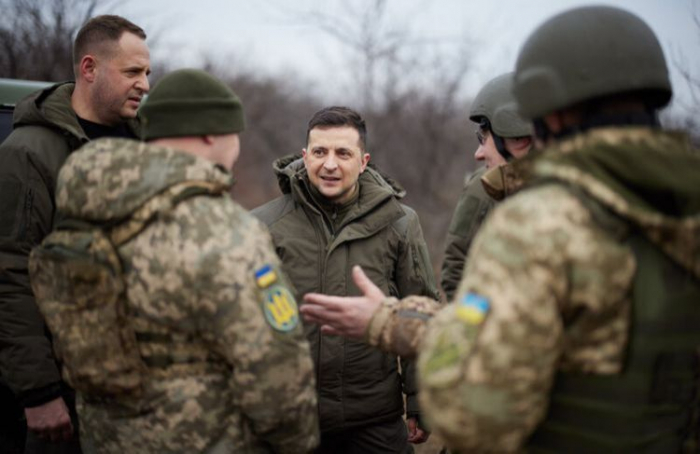 Ukrainian president signs order to call up reservists for military service