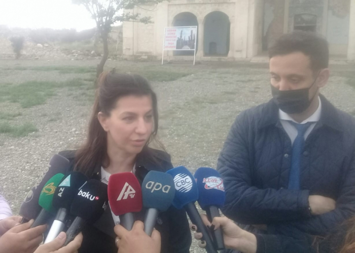 Azerbaijan's Aghdam district is completely ruined - French journalist