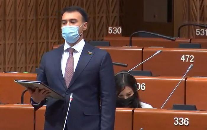 PACE turned blind eye to tragedies committed against Azerbaijanis, says MP Kamal Jafarov