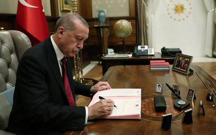 Turkish president ratifies energy agreement with Azerbaijan