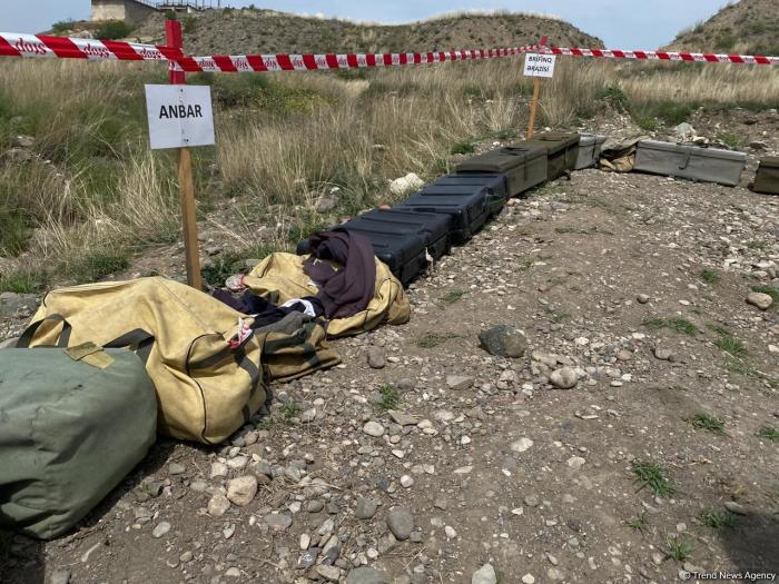 Armenia buried plastic mines in Azerbaijan
