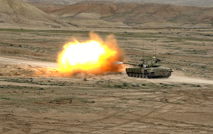 Command training classes conducted in military units of Nakhchivan garrison troops -   VIDEO