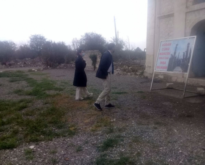 French lawyers visit liberated Aghdam district of Azerbaijan