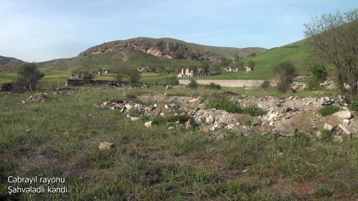 Shahvaladli village of Azerbaijan