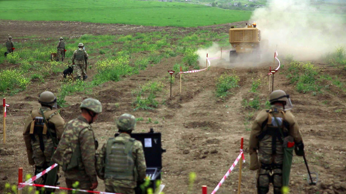 Azerbaijan MOD releases video on landmine clearance operations in liberated areas -  VIDEO