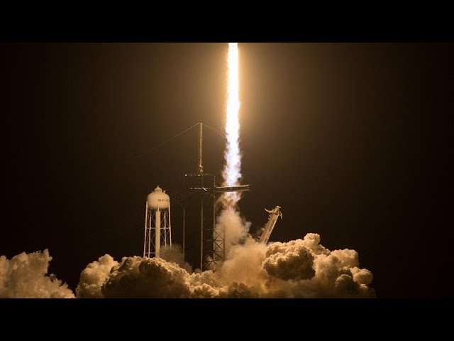 SpaceX launches third crewed mission to ISS -   NO COMMENT
