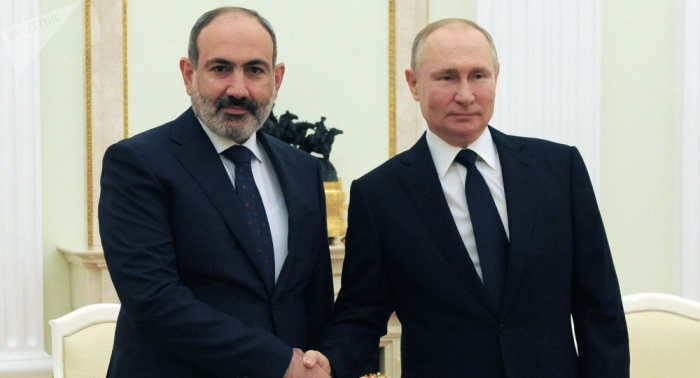 Armenian PM discusses situation in Karabakh with Putin in phone call