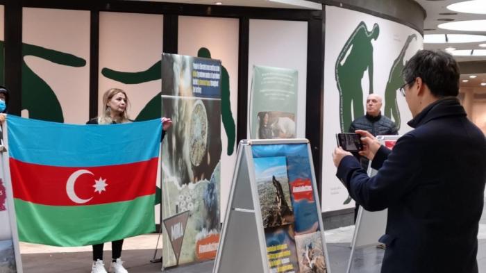 Stokholmda Ermənistanın mina xəritəsini verməməsinə etiraz edildi