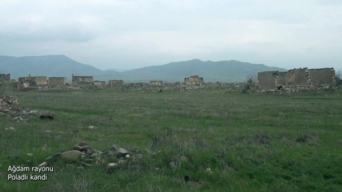 Poladli village of Azerbaijan's Aghdam district –   VIDEO