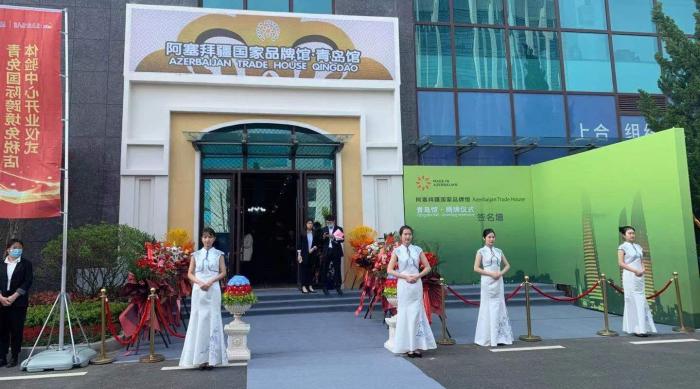 Azerbaijan inaugurates new trading house in China