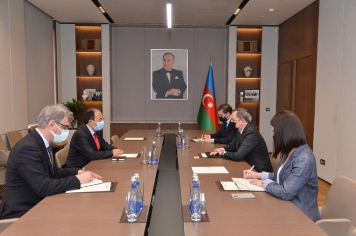 Azerbaijani FM receives newly-appointed Ambassador of Turkey