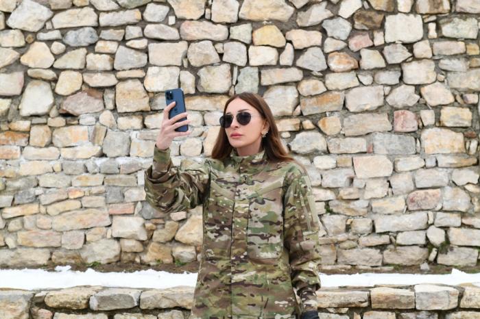 Mehriban Aliyev posts   videos   from their visit to Zangilan, Jabrayil districts