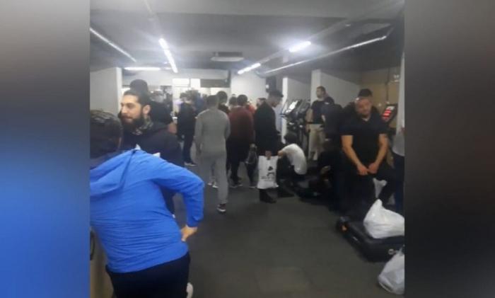 İdman zalına gedən 56 nəfər cərimələndi