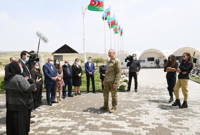 Prezidentin Zəngilan sakinləri ilə səmimi dialoqu
