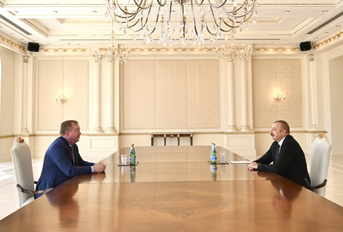 President Aliyev received chief executive officer of Boeing Commercial Airplanes