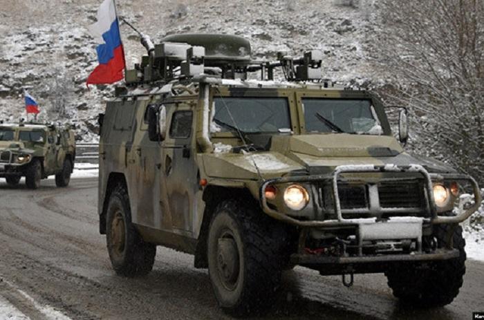 Zwei russische Friedenstruppen bei Minenexplosion verletzt