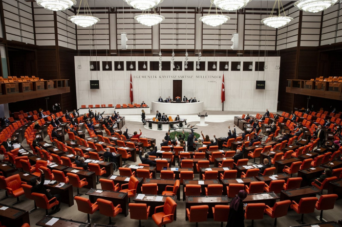"""Turkish parliament condemns US president's statement on so-called """"Armenian genocide"""""""