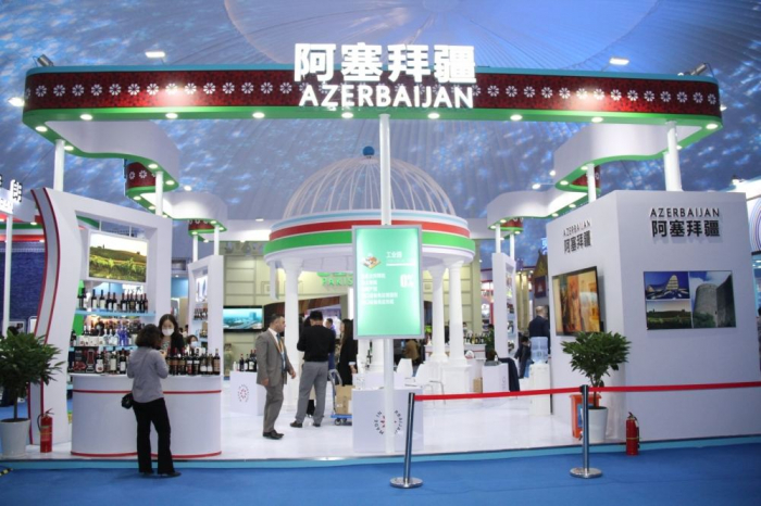 Azerbaijani stand opens at international exhibition in China -   PHOTO