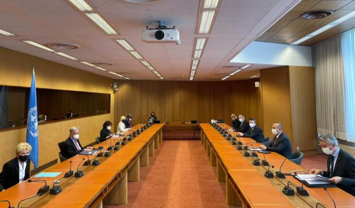 Turkish FM meets UN Sec-Gen in Geneva