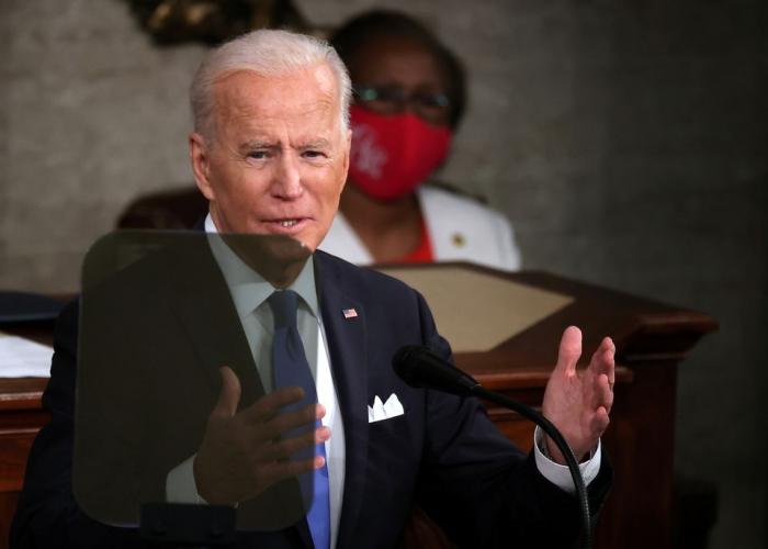 Biden speaks tough on China in first speech to Congress