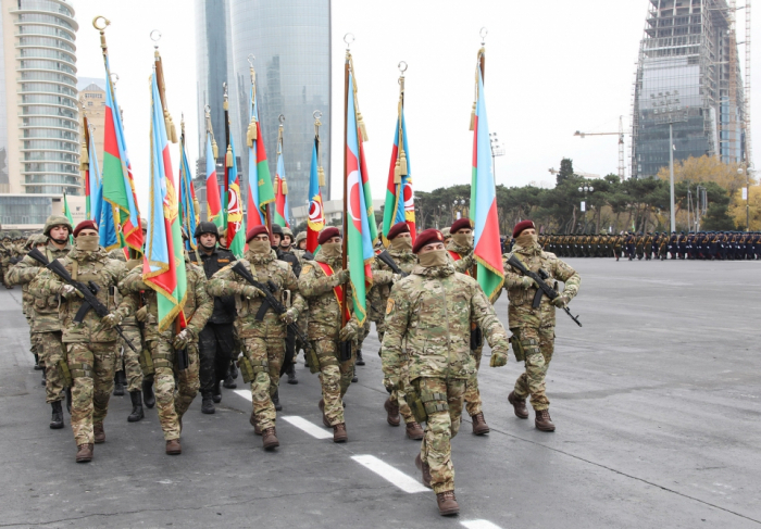 Azerbaijan Special Forces mark 22th anniversary