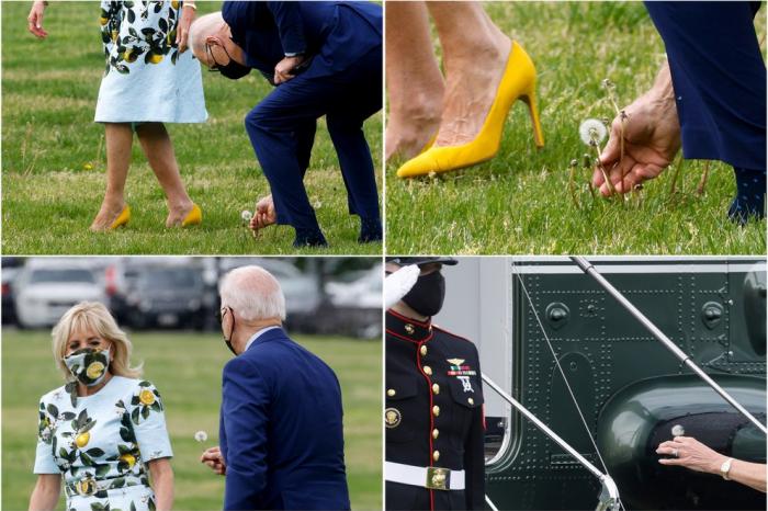 El romántico gesto de Joe Biden con su esposa Jill que se volvió viral