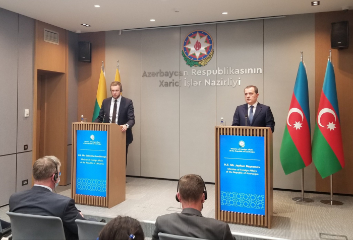 Azerbaijan and Lithuania consider signing several documents