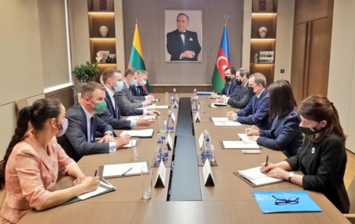 Azerbaijani, Lithuanian foreign ministers meet in Baku - UPDATED