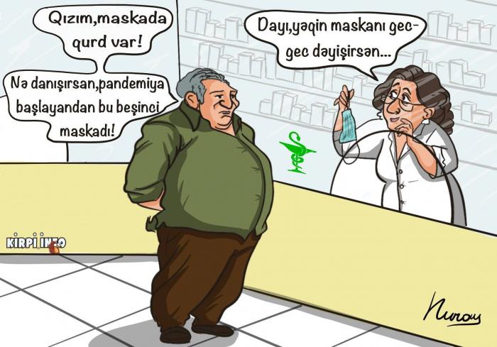 """Bizim maskalarda qurd yoxdur"" -  Səkinə Babayeva"