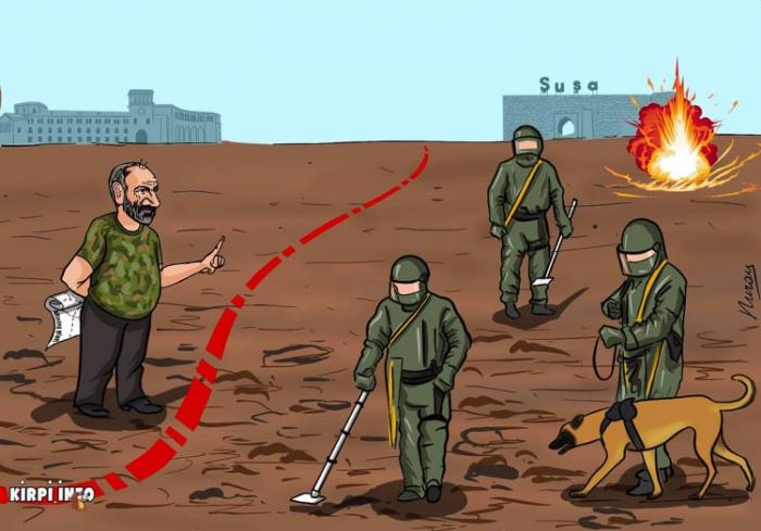 Mina tələsi və revanşist iddialar:  Ermənistan sonunu yaxınlaşdırır