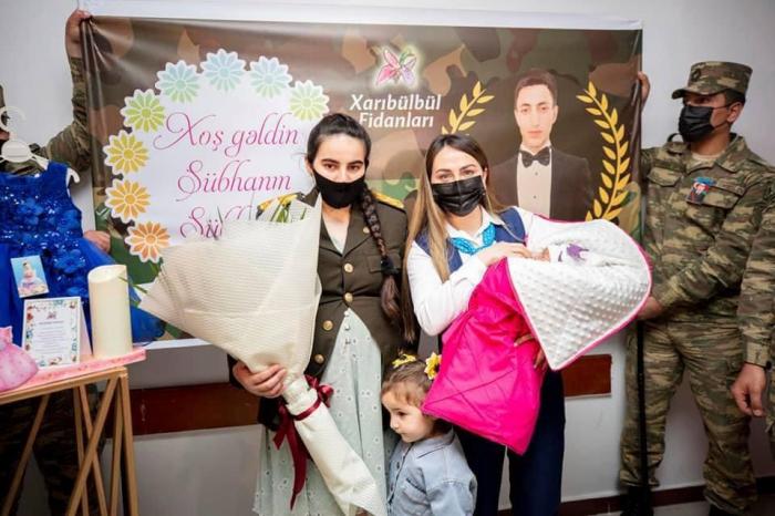 """""""YAŞAT"""" daha 2 şəhidin övladına hesab açır -    FOTO"""