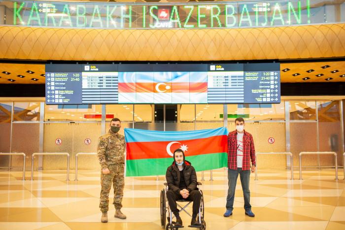 """""""YAŞAT"""": Bu günədək 76 qazi Türkiyəyə müalicəyə göndərilib"""