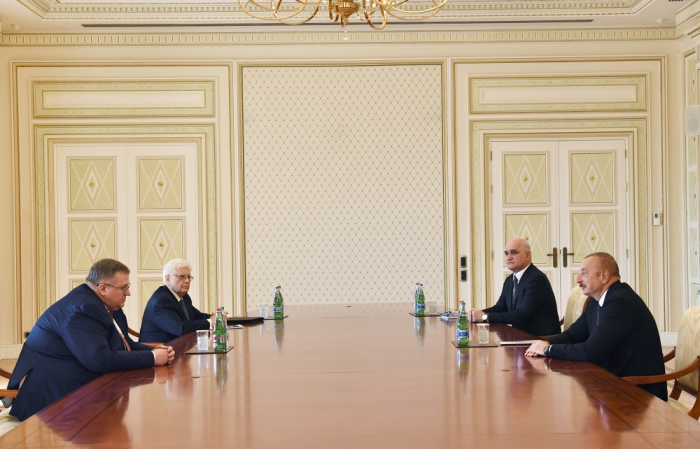President Ilham Aliyev receives Russian Deputy Prime Minister