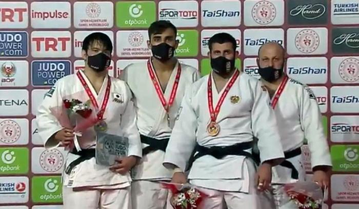 Azerbaijani judokas take three medals at int'l tournament in Turkey