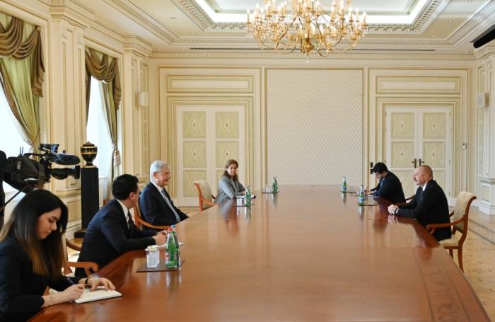 Azerbaijani President receives UN