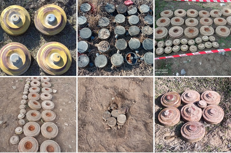 Armenia set up booby traps in Karabakh, Azerbaijan
