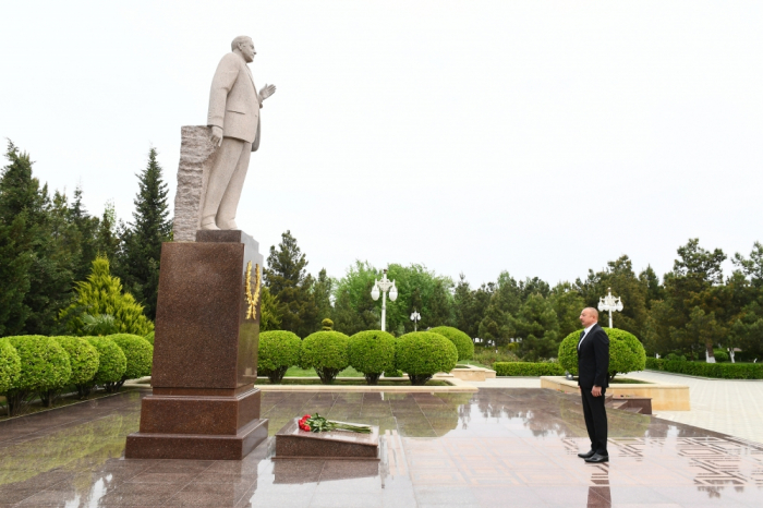 President Ilham Aliyev visits Hajigabul district