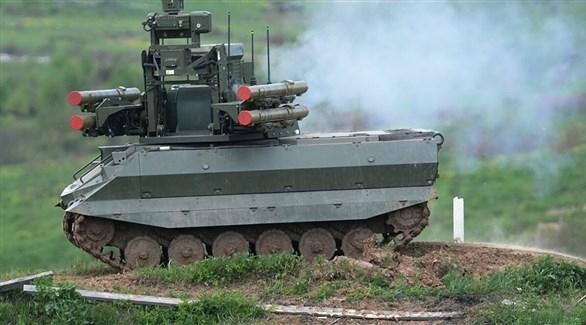 روسيا ستؤسس أول وحدة مسلحة بروبوتات